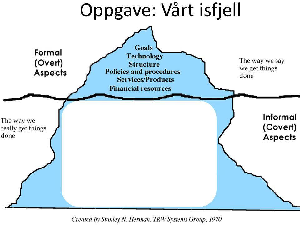 Oppgave: Vårt isfjell
