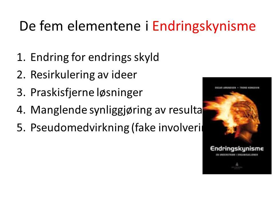 De fem elementene i Endringskynisme