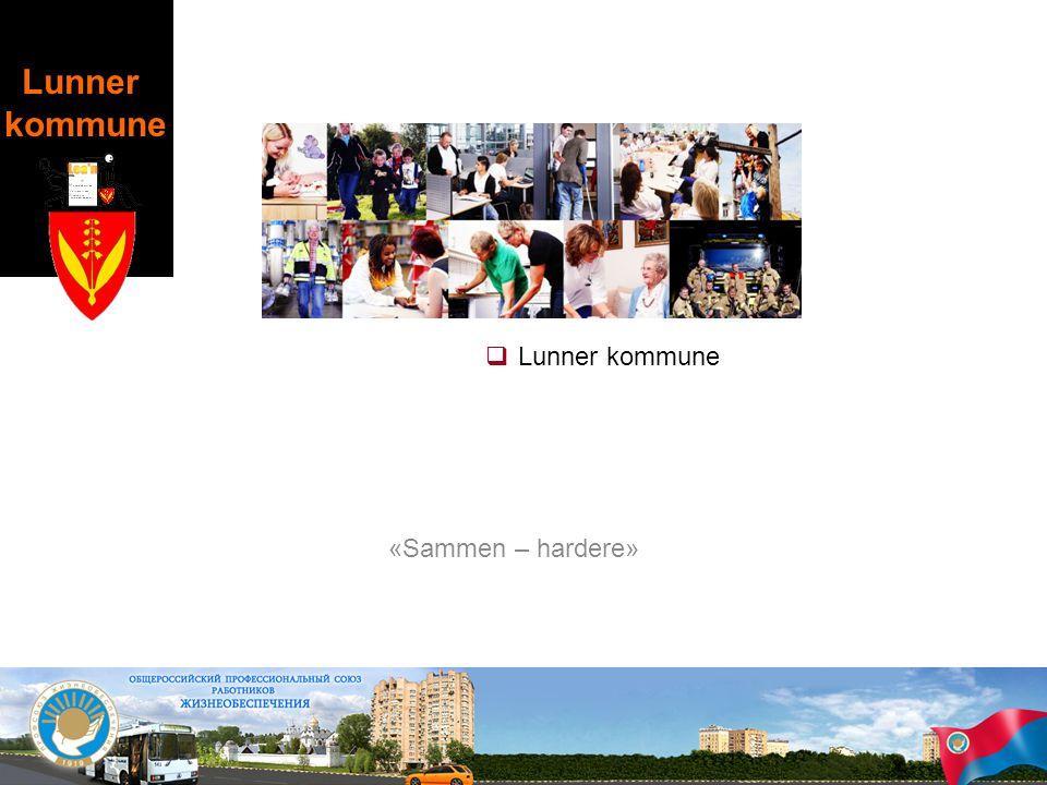 Lunner kommune «Sammen – hardere» Brita: