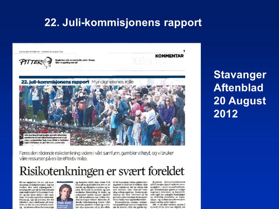 22. Juli-kommisjonens rapport