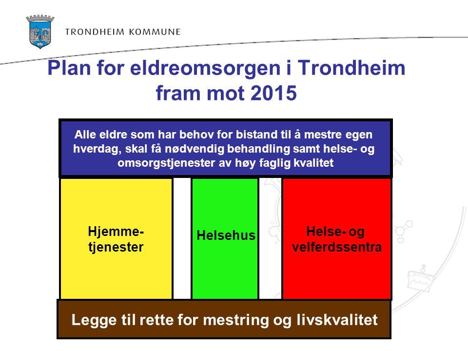 Plan for eldreomsorgen i Trondheim fram mot 2015