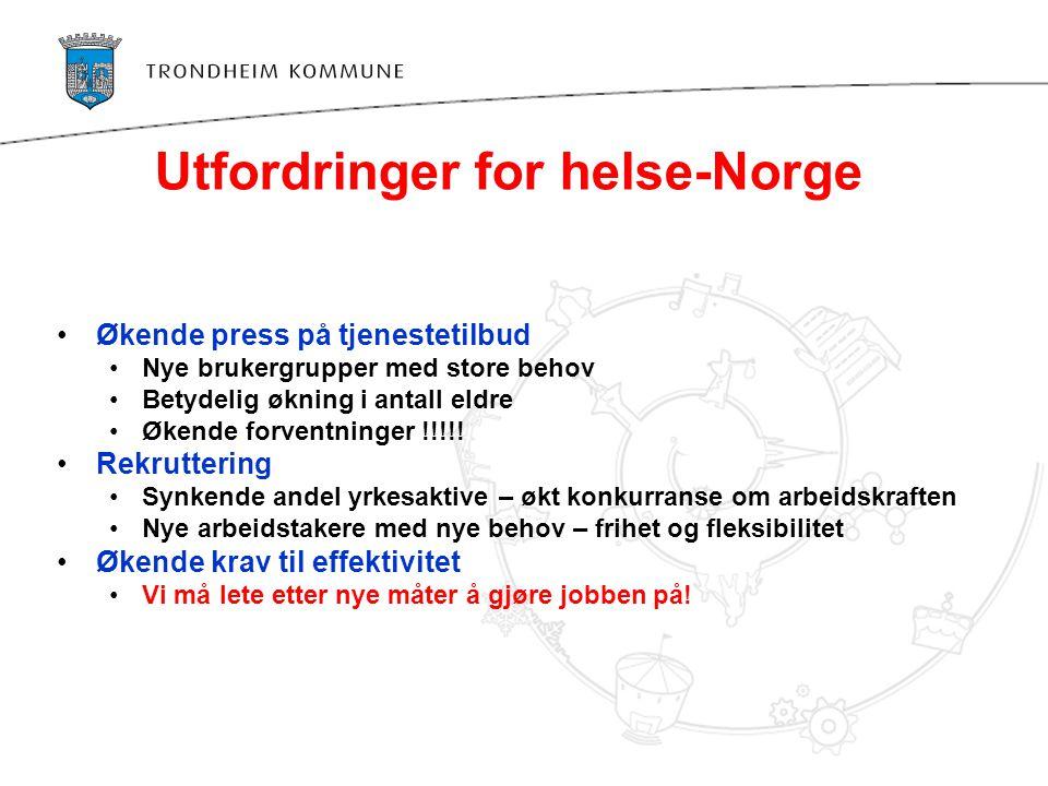Utfordringer for helse-Norge