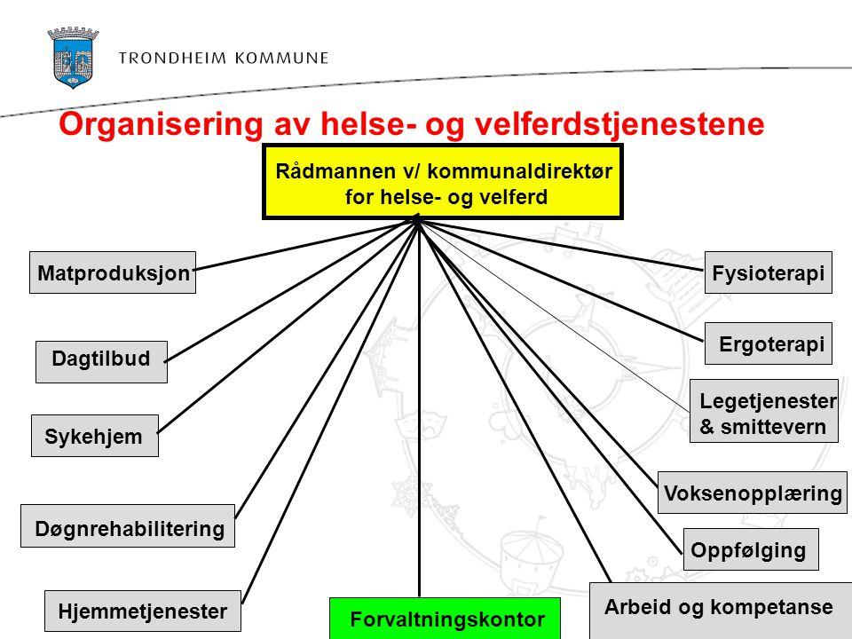 Organisering av helse- og velferdstjenestene