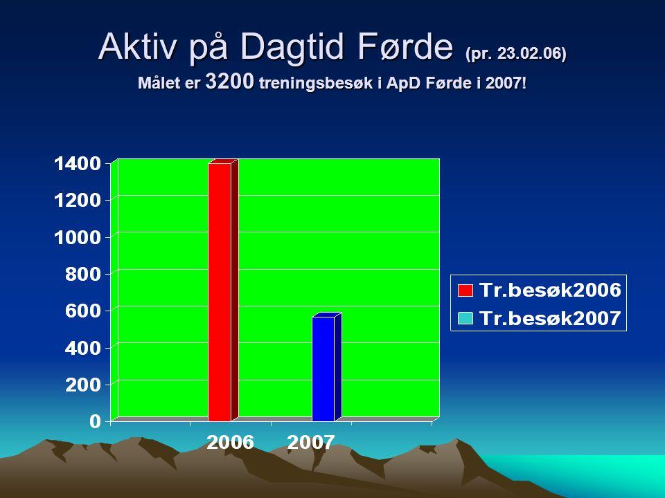 Aktiv på Dagtid Førde (pr. 23. 02