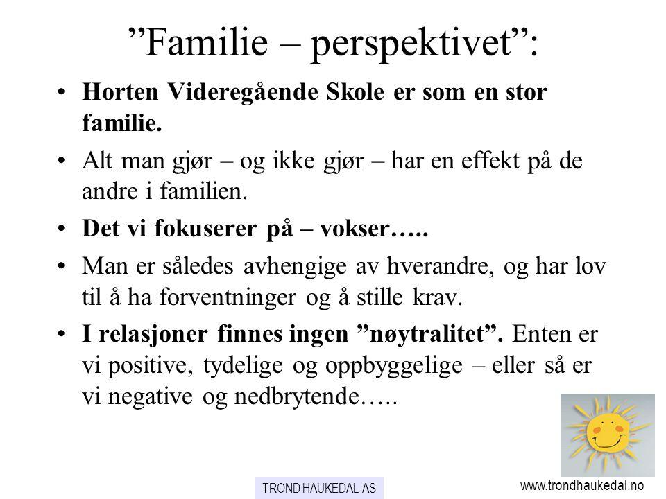 Familie – perspektivet :