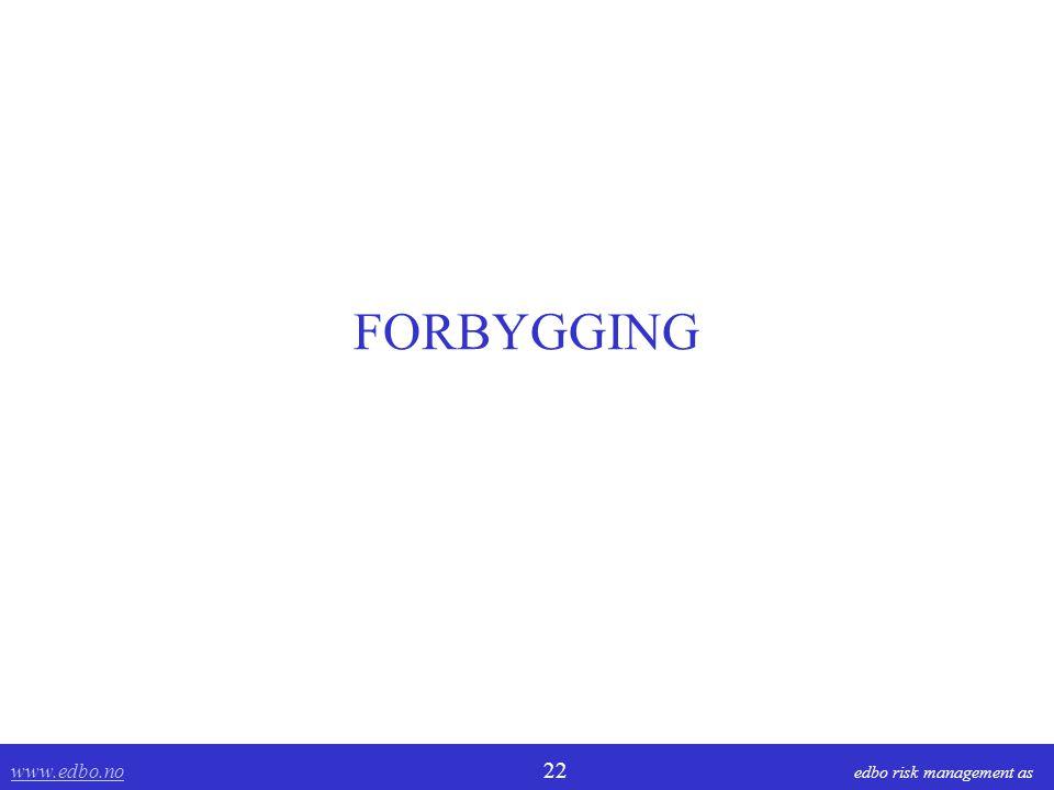 FORBYGGING