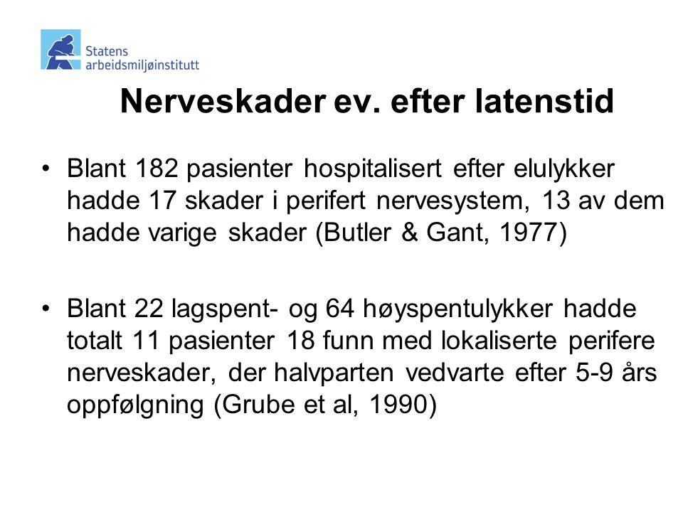 nerveskader efter operation