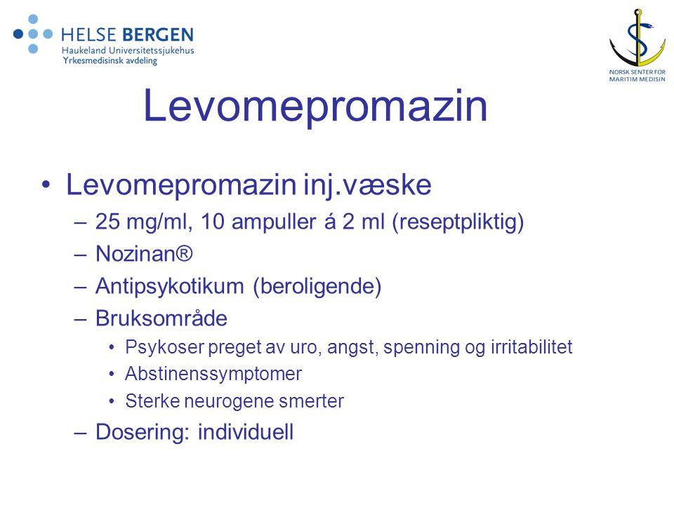 Levomepromazin Levomepromazin inj.væske