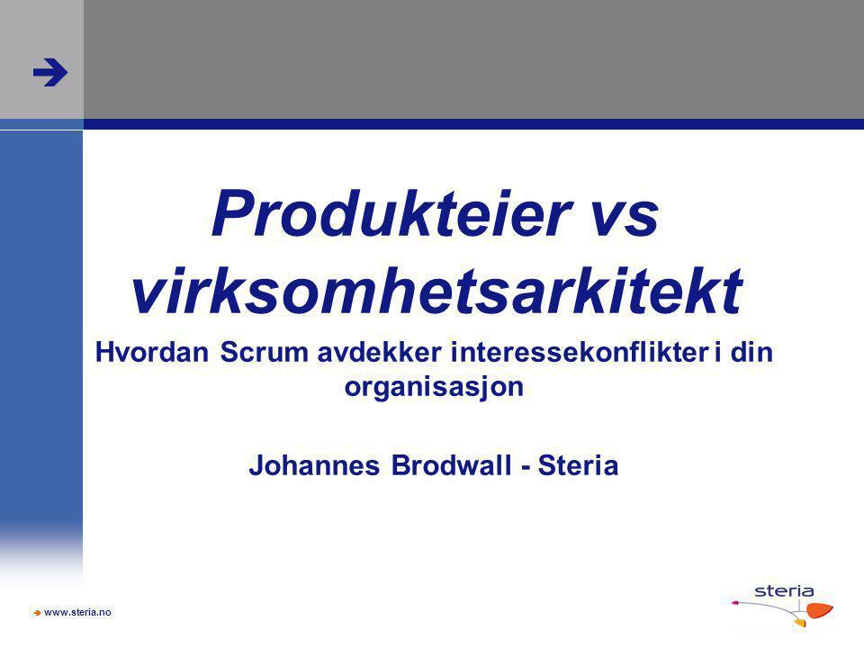 Produkteier vs virksomhetsarkitekt