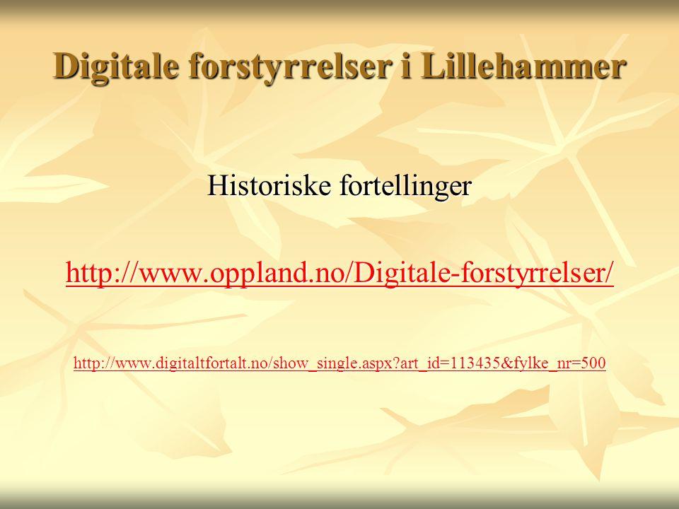 Digitale forstyrrelser i Lillehammer