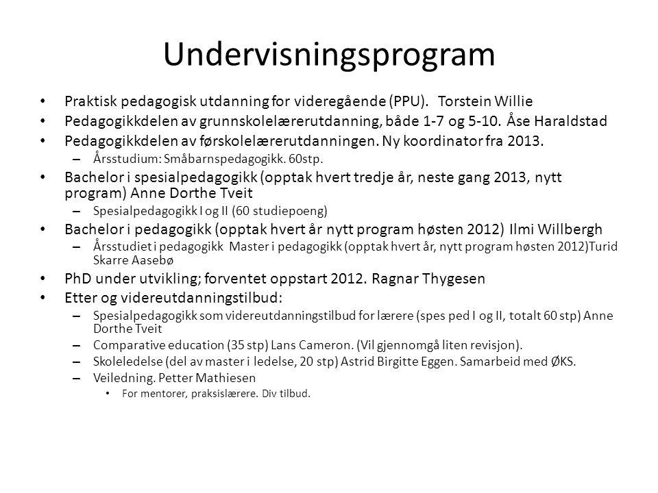 Undervisningsprogram
