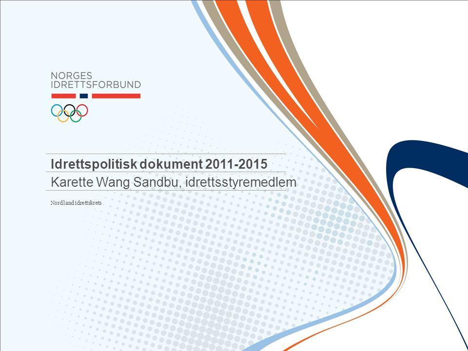 Idrettspolitisk dokument 2011-2015