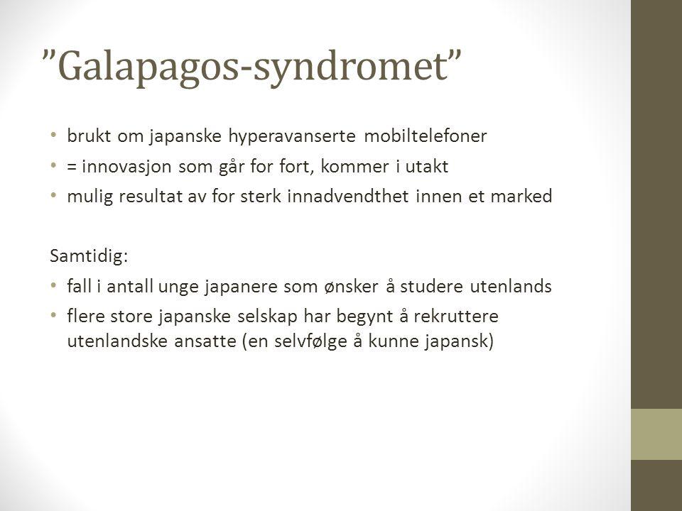 Galapagos-syndromet
