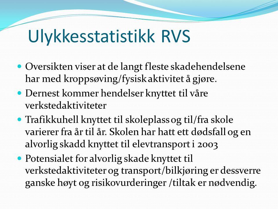 Ulykkesstatistikk RVS