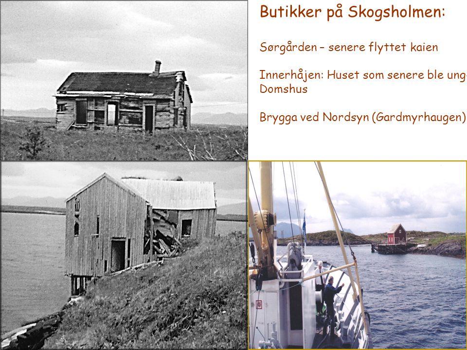 Butikker på Skogsholmen: