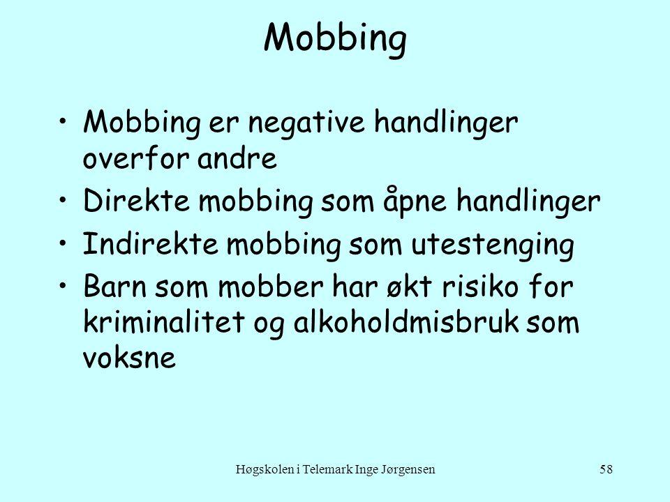 Høgskolen i Telemark Inge Jørgensen