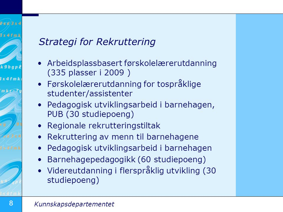 Strategi for Rekruttering