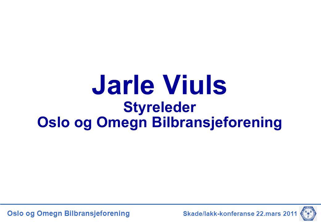 Jarle Viuls Styreleder Oslo og Omegn Bilbransjeforening