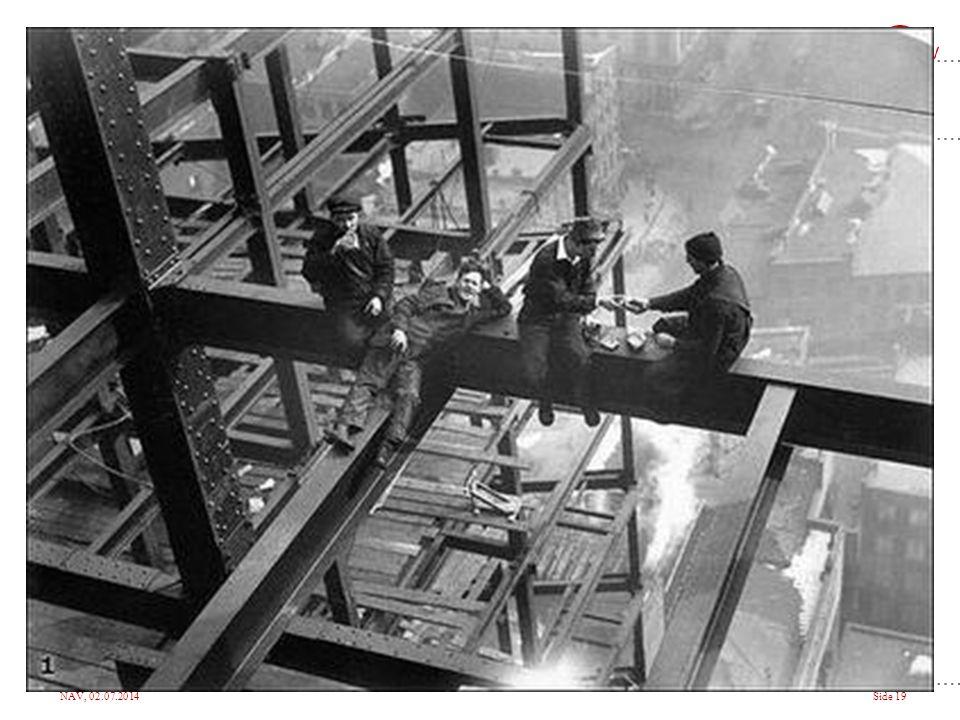 Historisk har arbeid vært en betydelig årsak til tidlig død og store helseproblemer. Stor innsats over mange år. Arbeidsmiljøet er i dag trolig bedre enn sitt rykte.