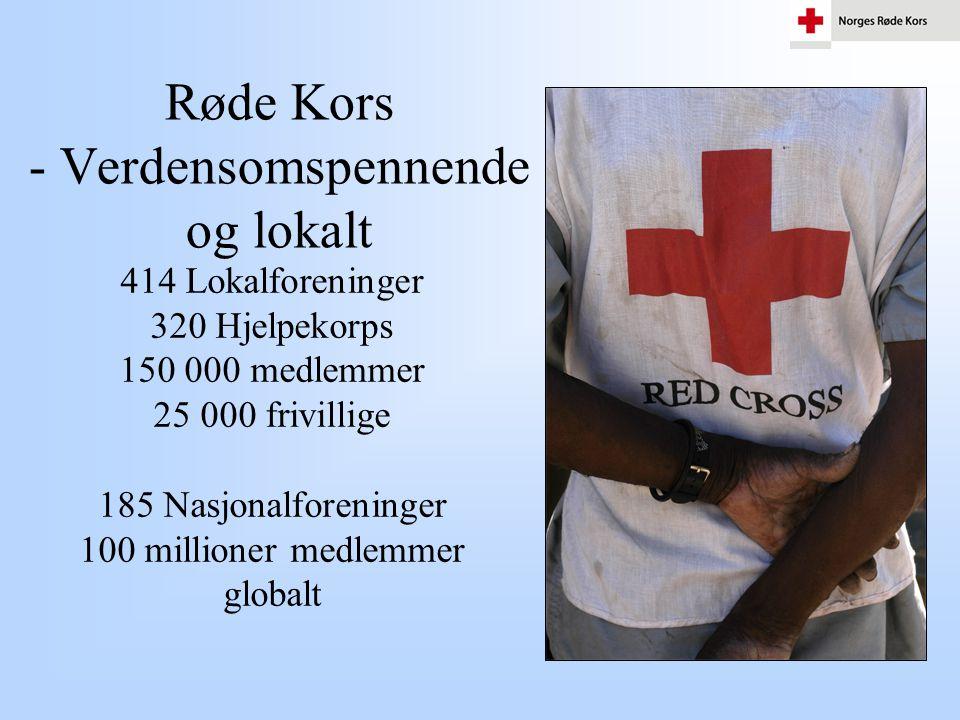 Røde Kors - Verdensomspennende og lokalt