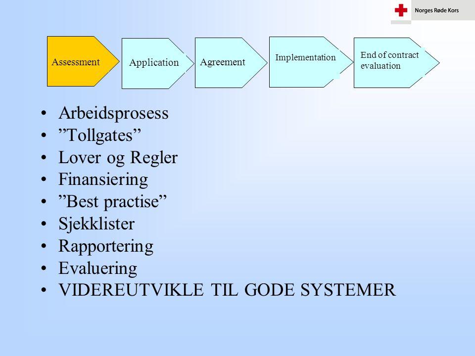 VIDEREUTVIKLE TIL GODE SYSTEMER
