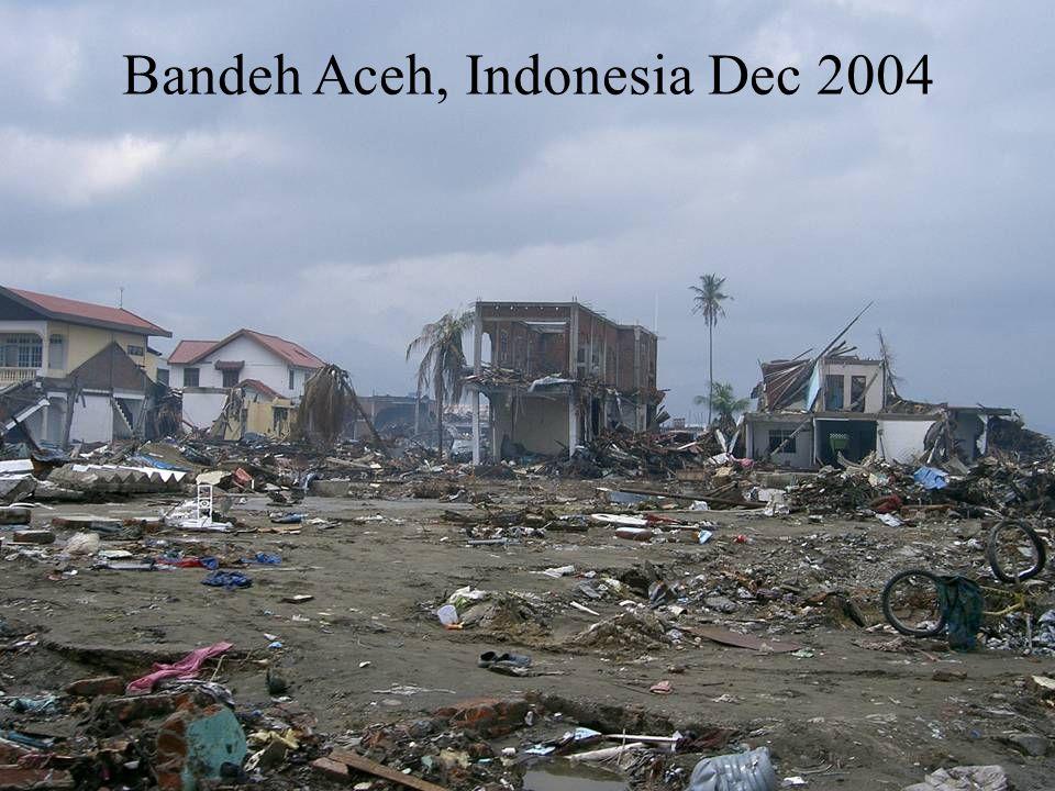 Bandeh Aceh, Indonesia Dec 2004