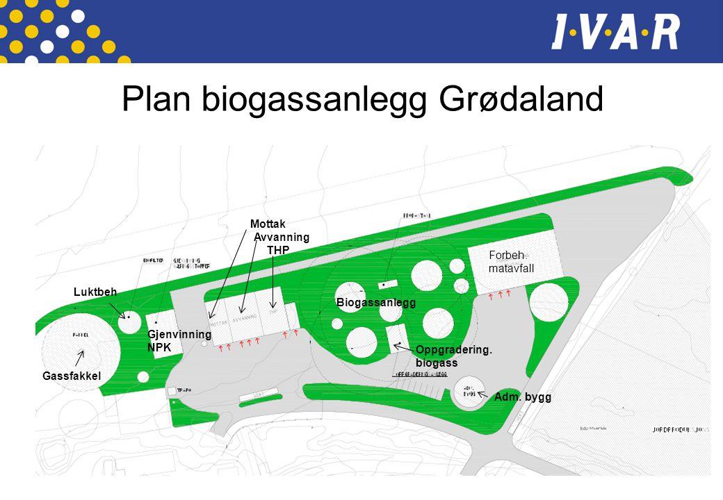 Plan biogassanlegg Grødaland