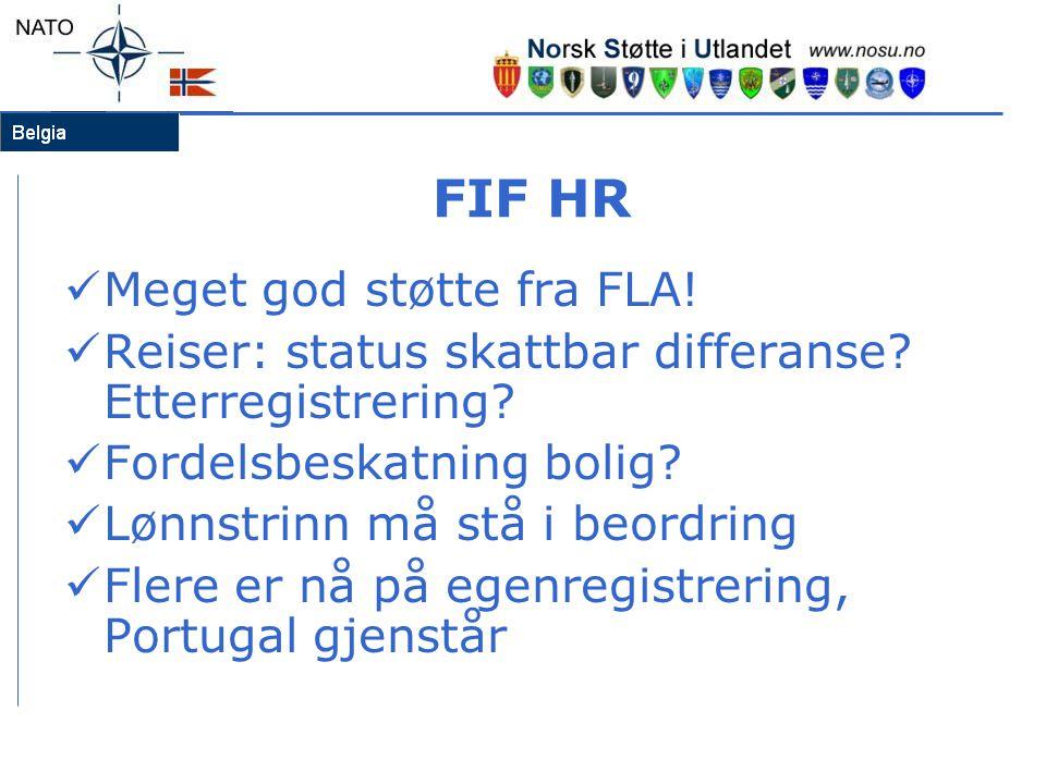 FIF HR Meget god støtte fra FLA!