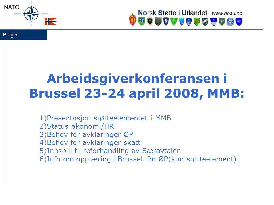 Arbeidsgiverkonferansen i Brussel 23-24 april 2008, MMB: