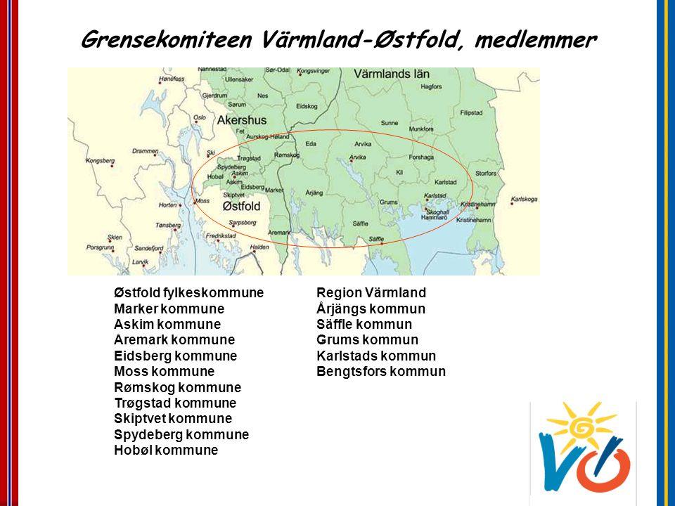 Grensekomiteen Värmland-Østfold, medlemmer