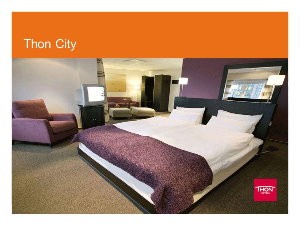 Thon City (Bildet er tatt fra de nye rommene på Thon Hotel Stefan)