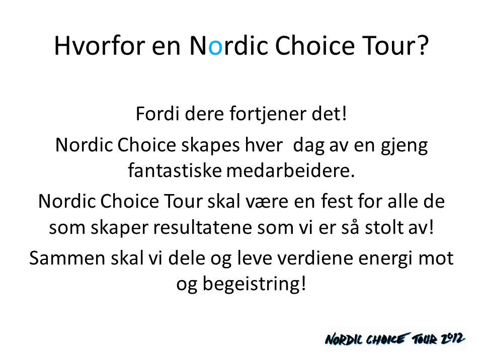 Hvorfor en Nordic Choice Tour