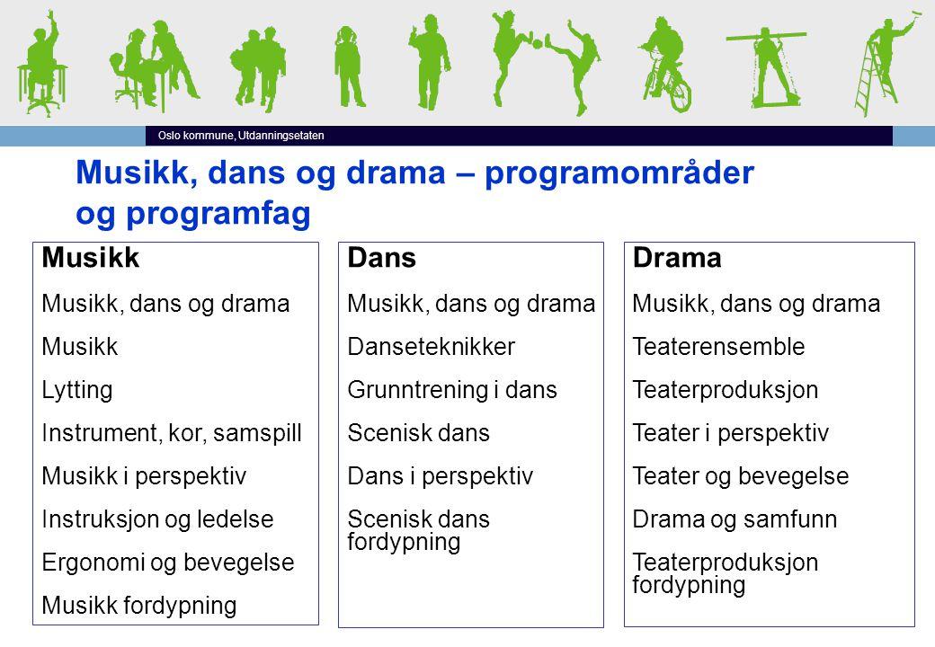 Musikk, dans og drama Vg1 Vg2 Vg3