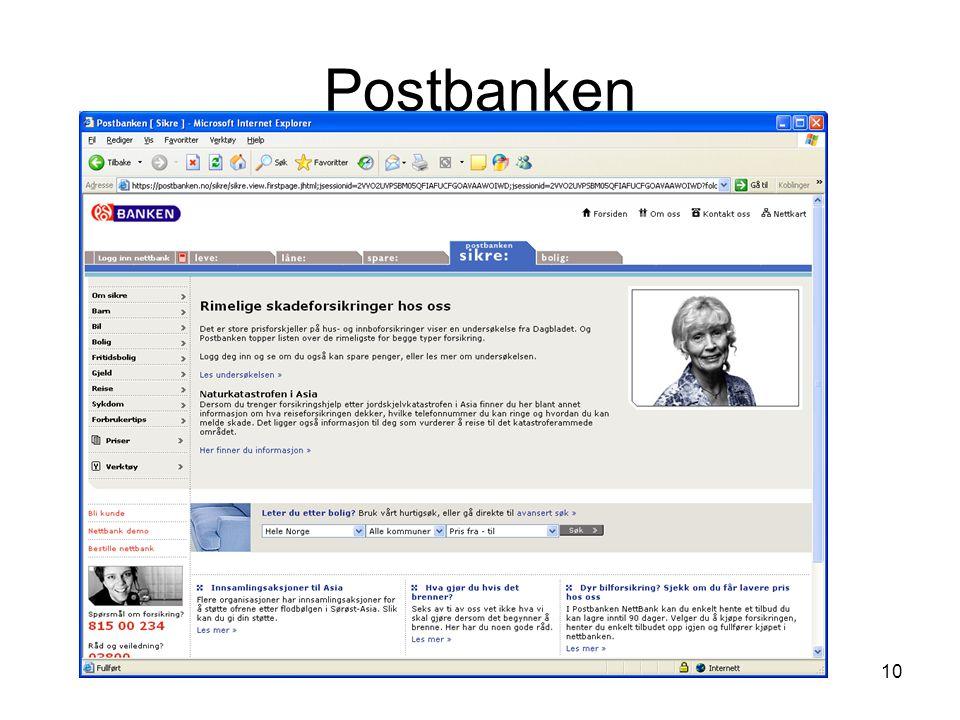 Postbanken Kirsten Ribu HiO 2008