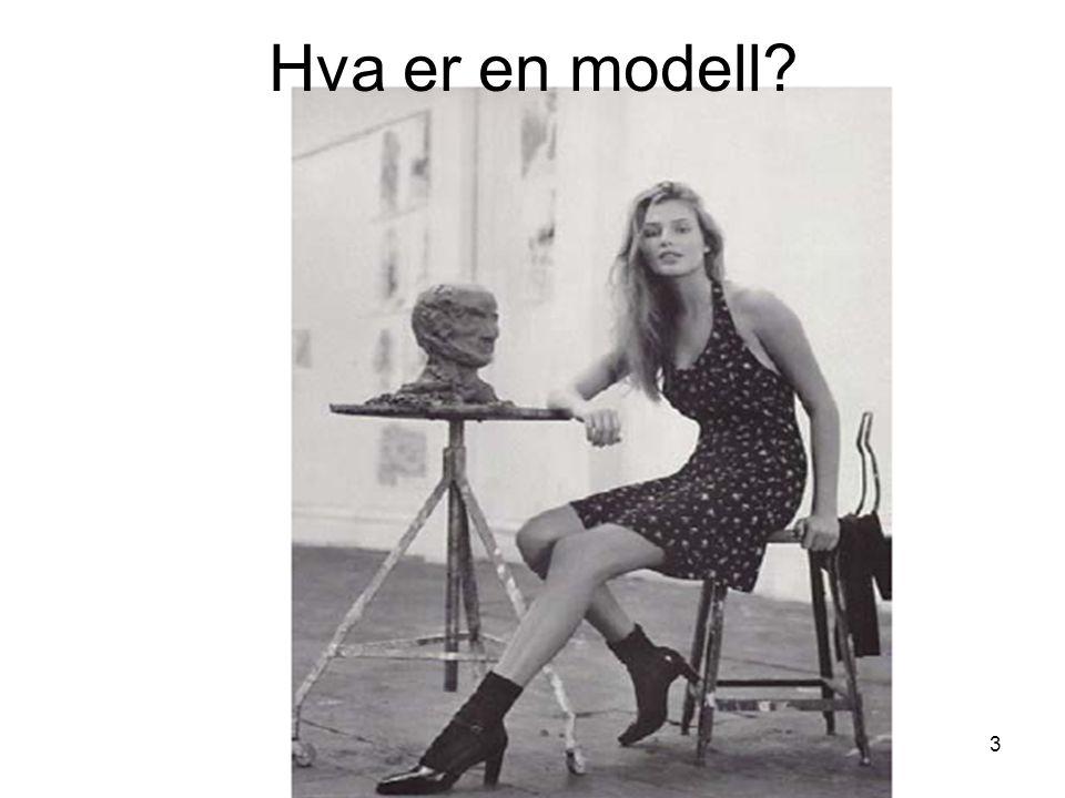 Hva er en modell Kirsten Ribu HiO 2008
