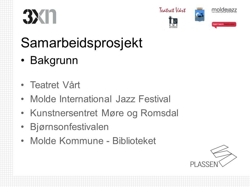 Samarbeidsprosjekt Bakgrunn Teatret Vårt