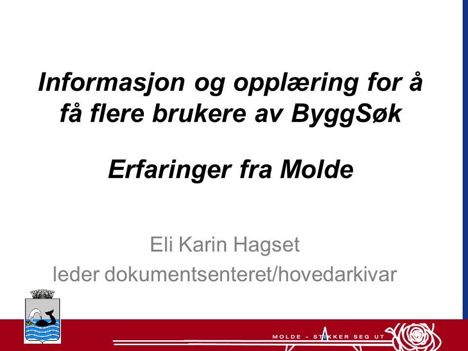Eli Karin Hagset leder dokumentsenteret/hovedarkivar
