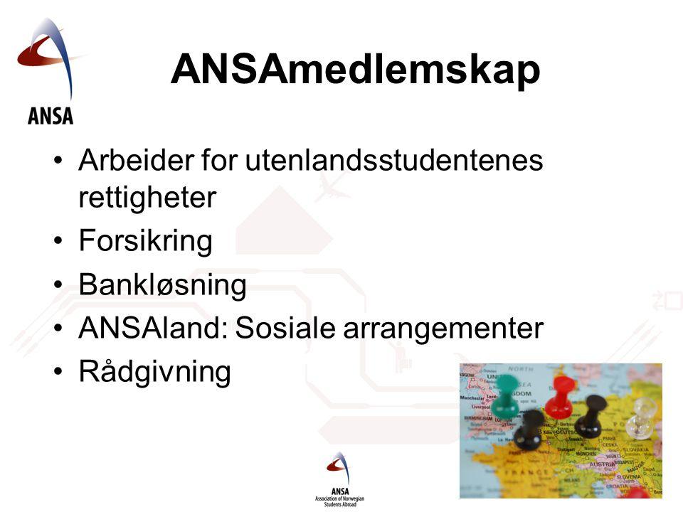 ANSAmedlemskap Arbeider for utenlandsstudentenes rettigheter