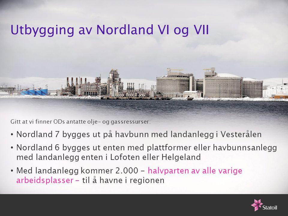 Utbygging av Nordland VI og VII