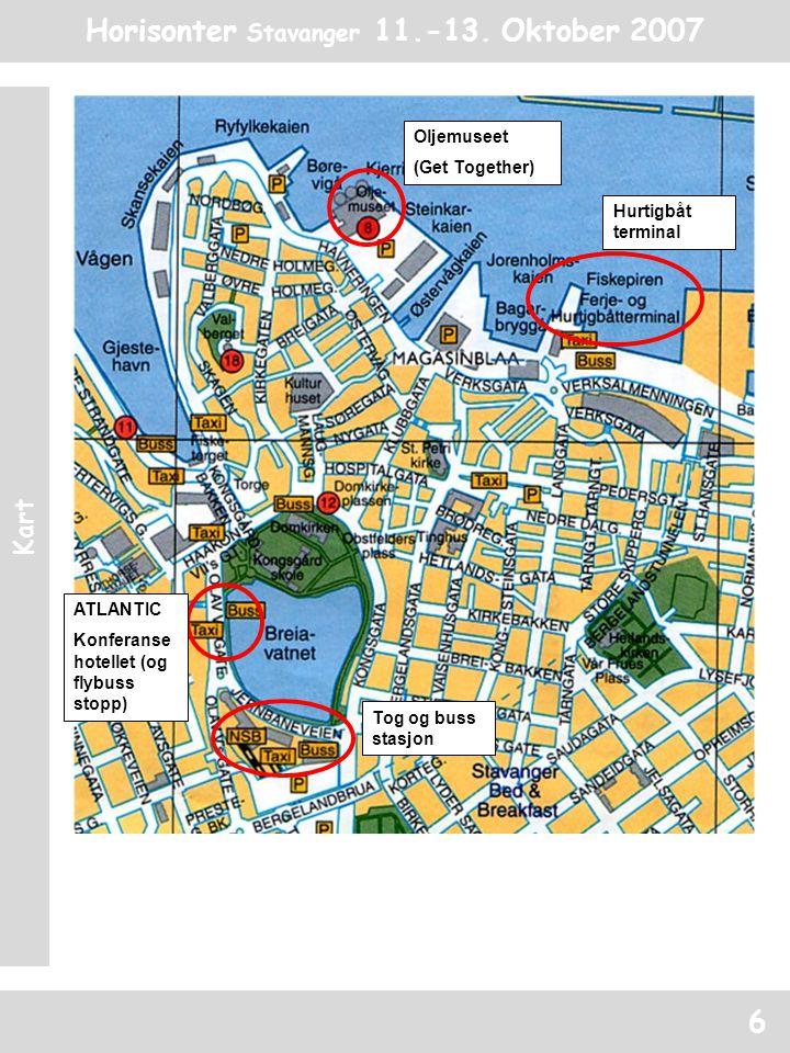 Horisonter Stavanger 11.-13. Oktober 2007