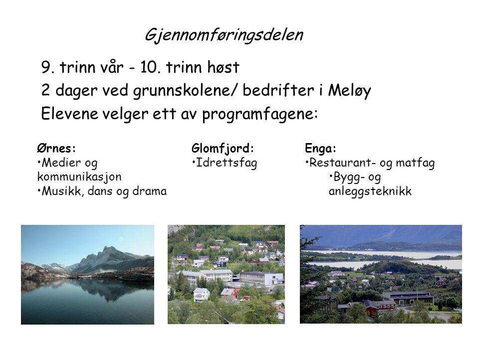 2 dager ved grunnskolene/ bedrifter i Meløy
