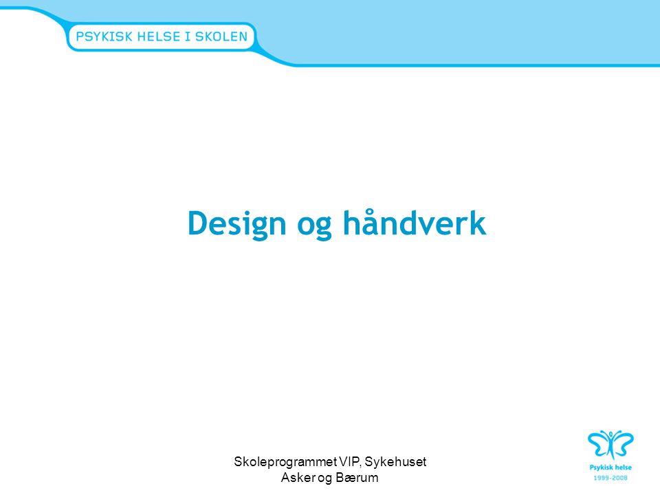 Skoleprogrammet VIP, Sykehuset Asker og Bærum