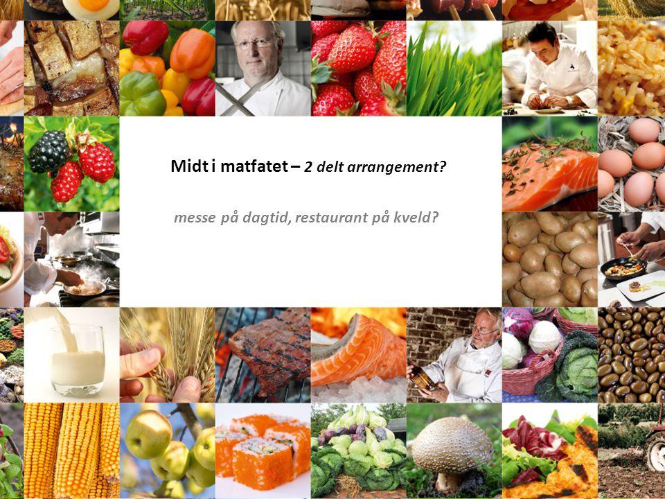 Midt i matfatet – 2 delt arrangement