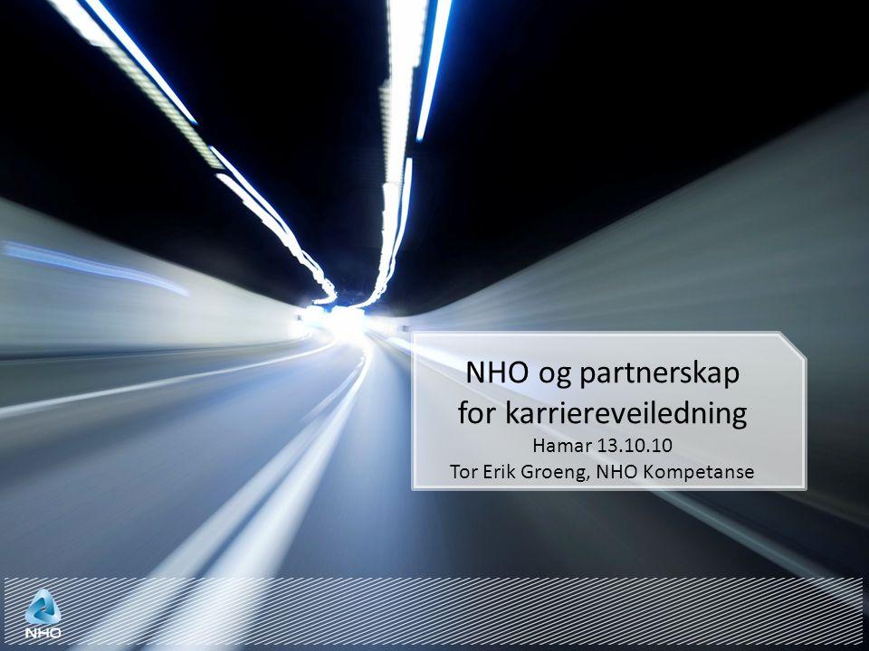 NHO og partnerskap for karriereveiledning