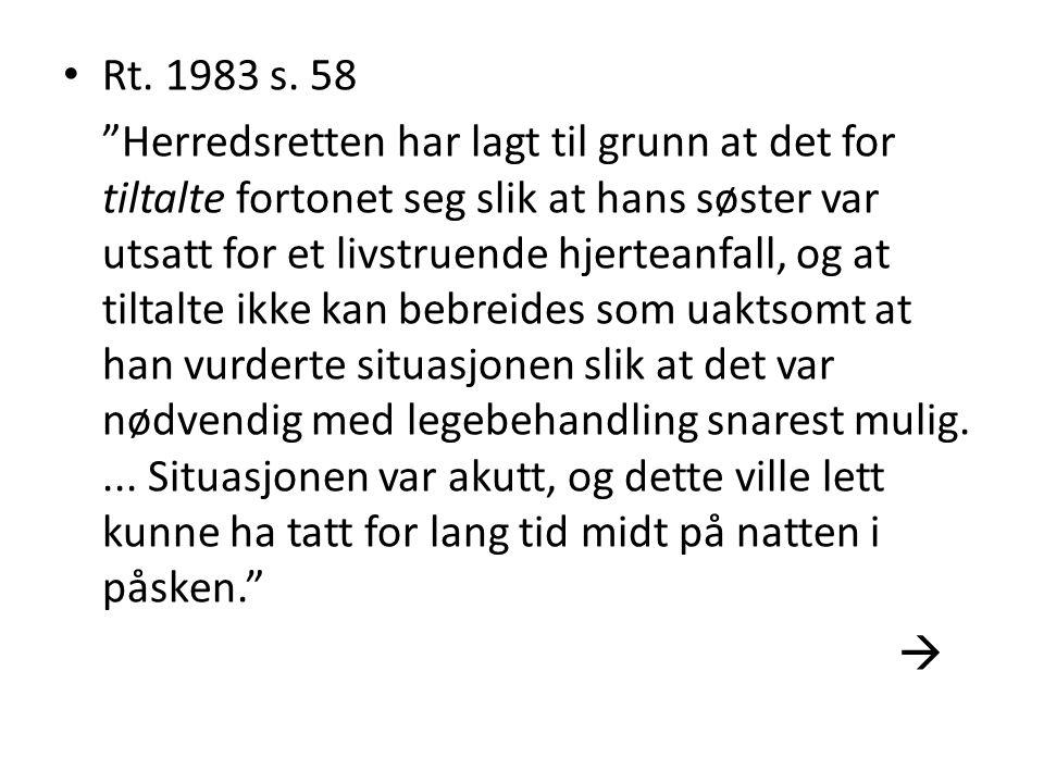 Rt. 1983 s. 58