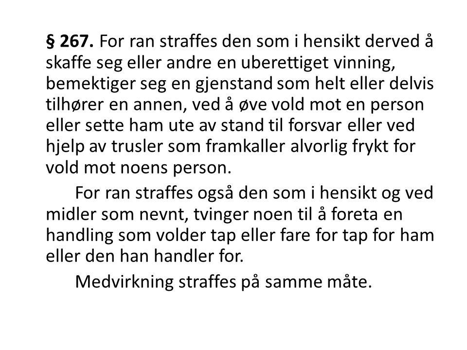 § 267.