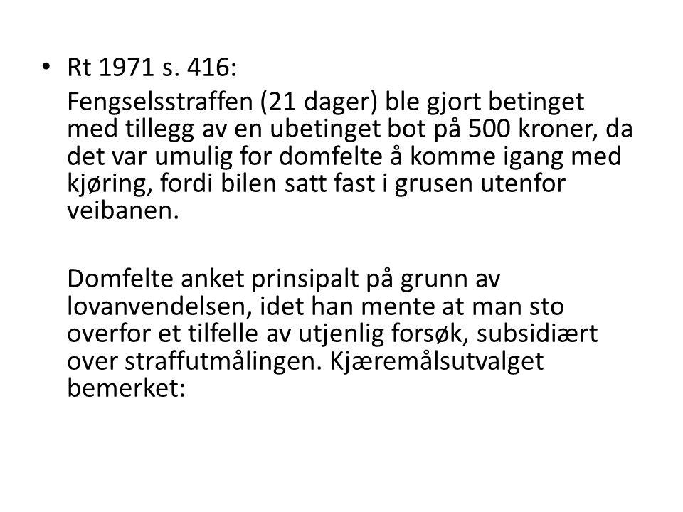 Rt 1971 s. 416: