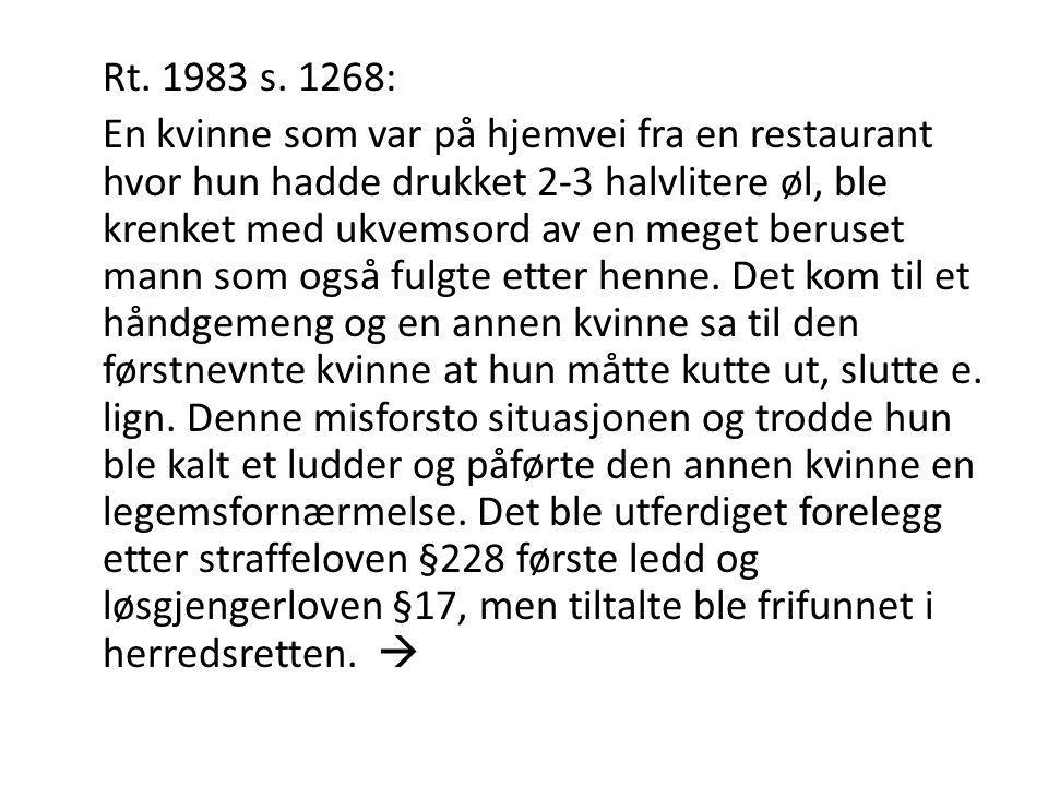 Rt. 1983 s. 1268: