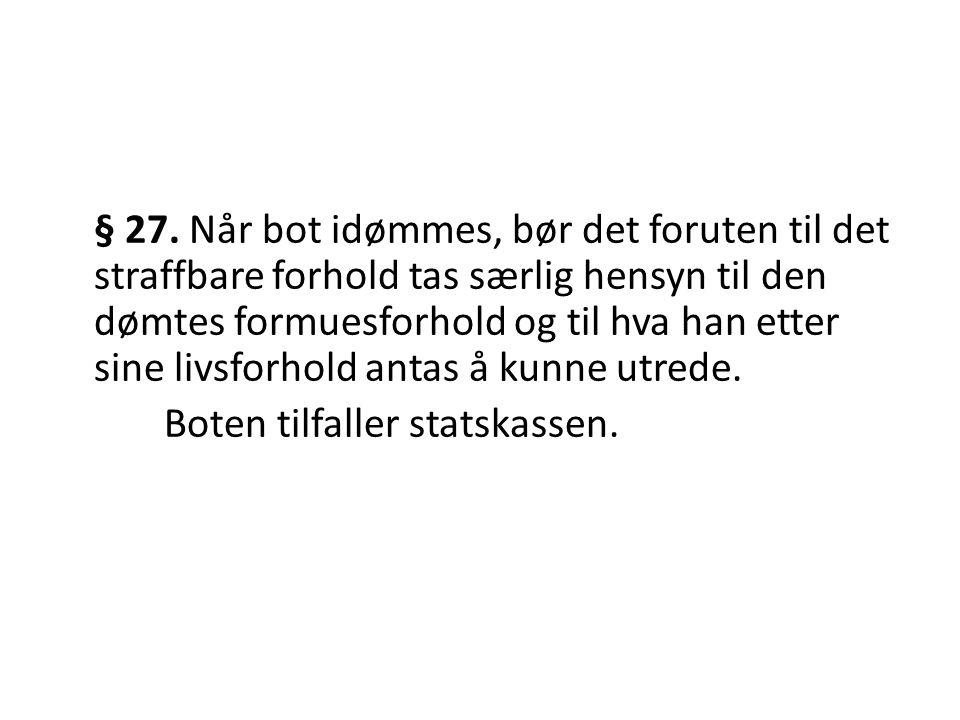 § 27.