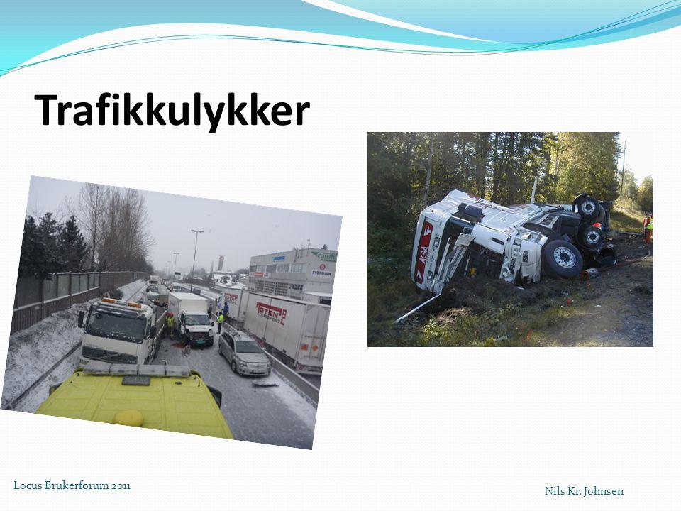 Trafikkulykker Locus Brukerforum 2011 Nils Kr. Johnsen